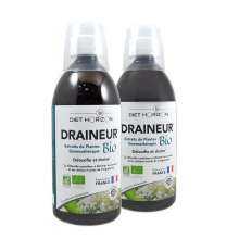 Draineur 5 Emonctoires Diet Horizon 500 ml Lot de 2