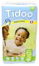 Tidoo Couches XL 16-30 kg taille 6