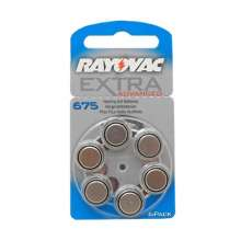 Rayovac Extra Advanced 675 6 piles