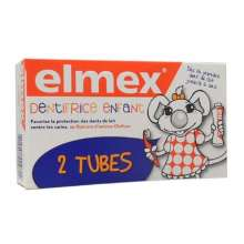 Elmex Dentifrice Enfant 50ml LOT DE 2