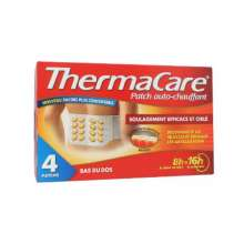 Thermacare Bas du Dos Patch Chauffant 4 Patchs