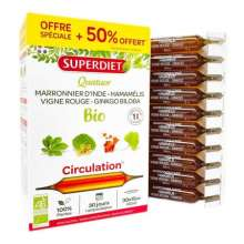 Quatuor circulation bio Super Diet 20 ampoules