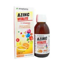 Azinc famille solution buvable Arkopharma 150 ml
